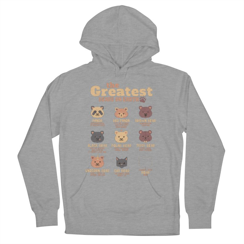 Greatest Bears Insert Your Bear Men's Pullover Hoody by Tobe Fonseca's Artist Shop