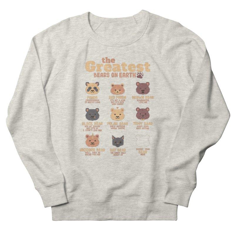 Greatest Bears Insert Your Bear Women's Sweatshirt by Tobe Fonseca's Artist Shop
