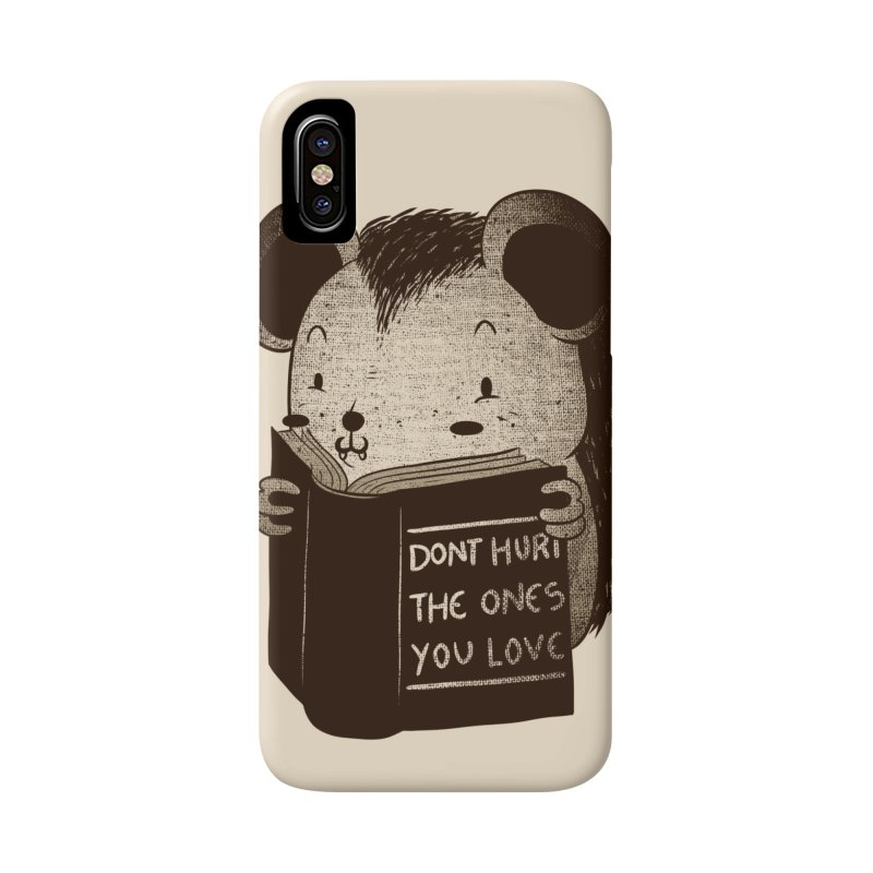 Hedgehog book don't hurt the ones you love Accessories Phone Case by Tobe Fonseca's Artist Shop