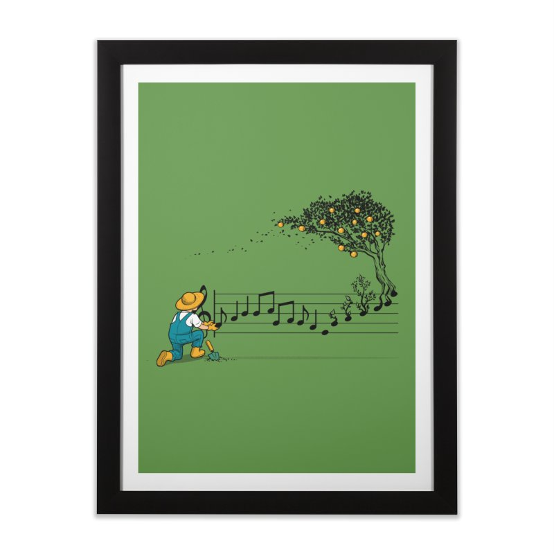 Maestro of Nature Home Framed Fine Art Print by Tobe Fonseca's Artist Shop