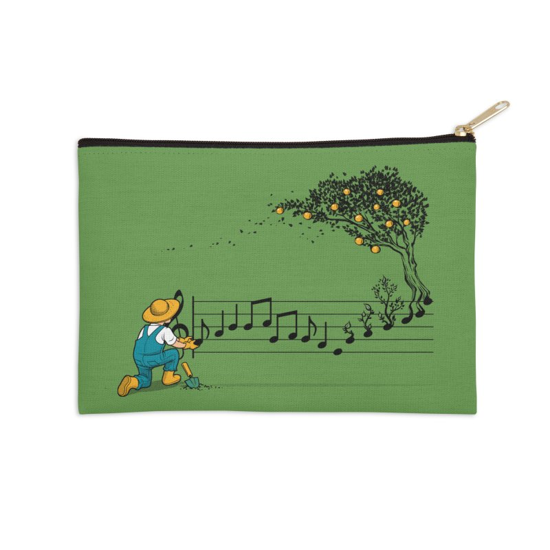 Maestro of Nature Accessories Zip Pouch by Tobe Fonseca's Artist Shop