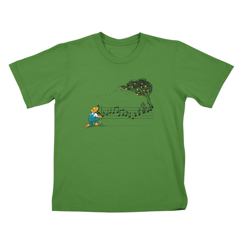 Maestro of Nature Kids T-Shirt by Tobe Fonseca's Artist Shop