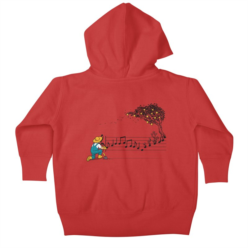 Maestro of Nature Kids Baby Zip-Up Hoody by Tobe Fonseca's Artist Shop