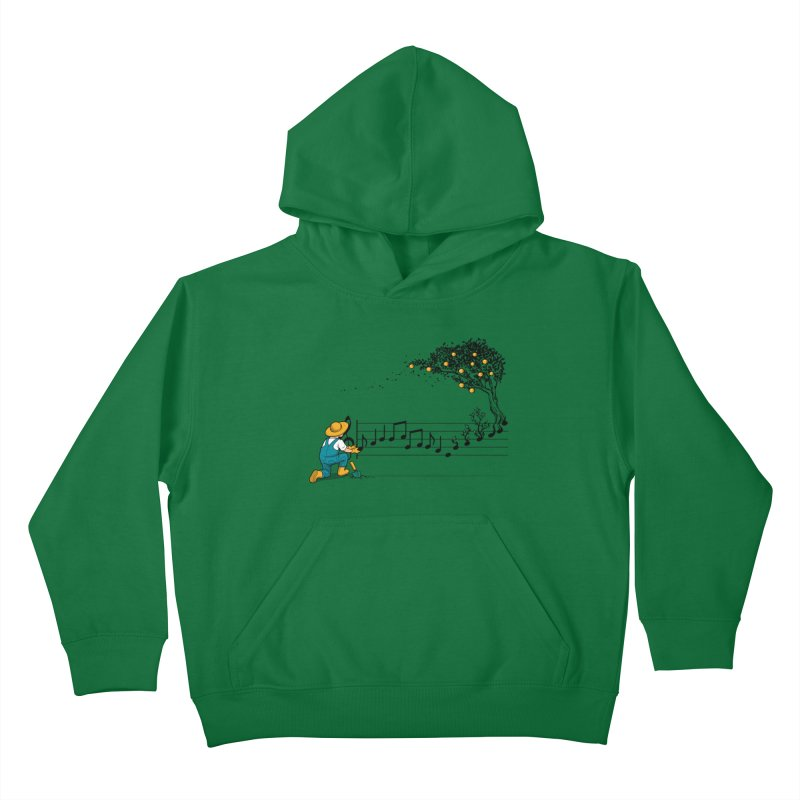 Maestro of Nature Kids Pullover Hoody by Tobe Fonseca's Artist Shop