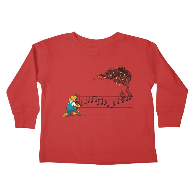 Maestro of Nature Kids Toddler Longsleeve T-Shirt by Tobe Fonseca's Artist Shop