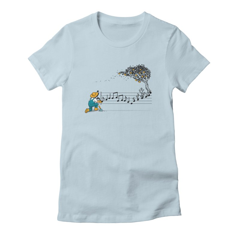Maestro of Nature Women's Fitted T-Shirt by Tobe Fonseca's Artist Shop
