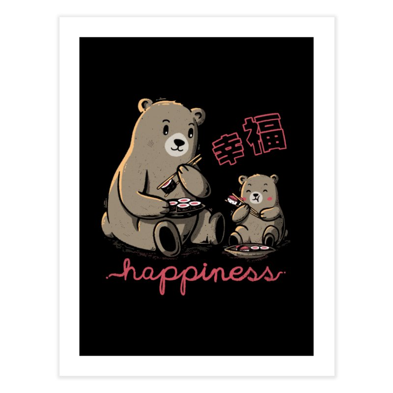 Happiness Sushi Home Fine Art Print by Tobe Fonseca's Artist Shop