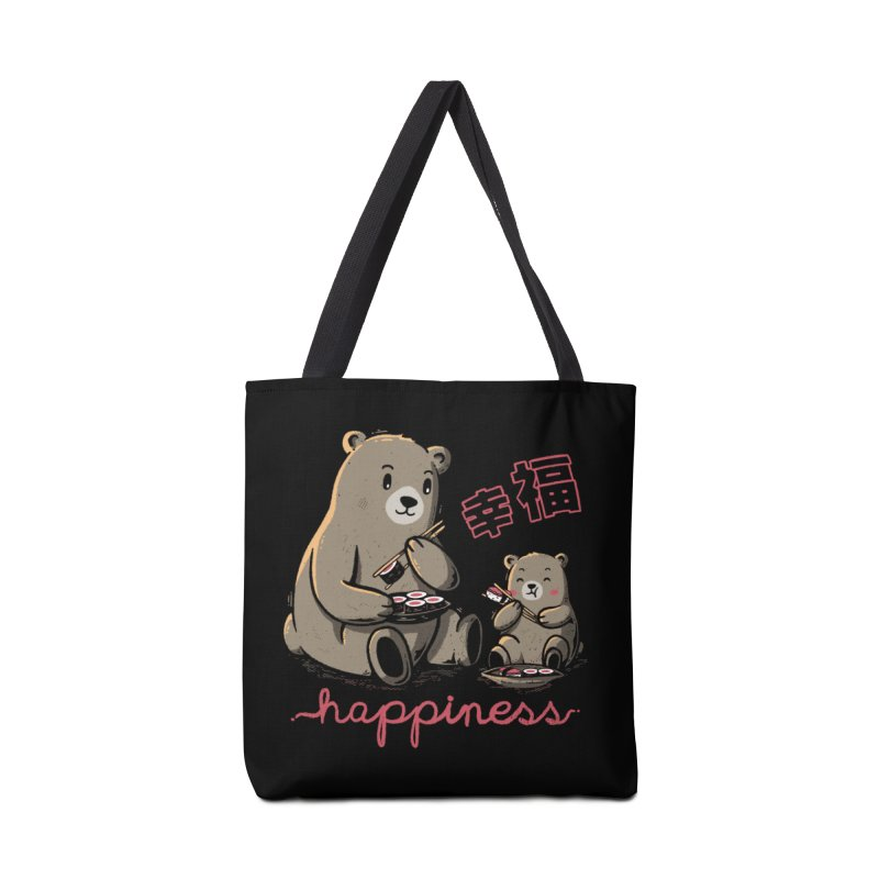 Happiness Sushi Accessories Bag by Tobe Fonseca's Artist Shop
