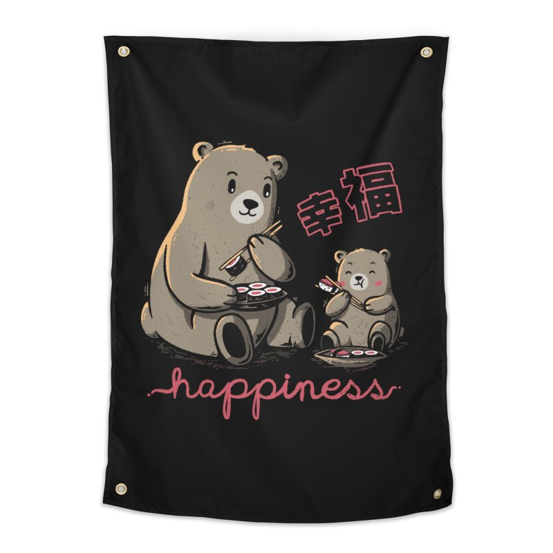 Happiness Sushi Home Tapestry by Tobe Fonseca's Artist Shop