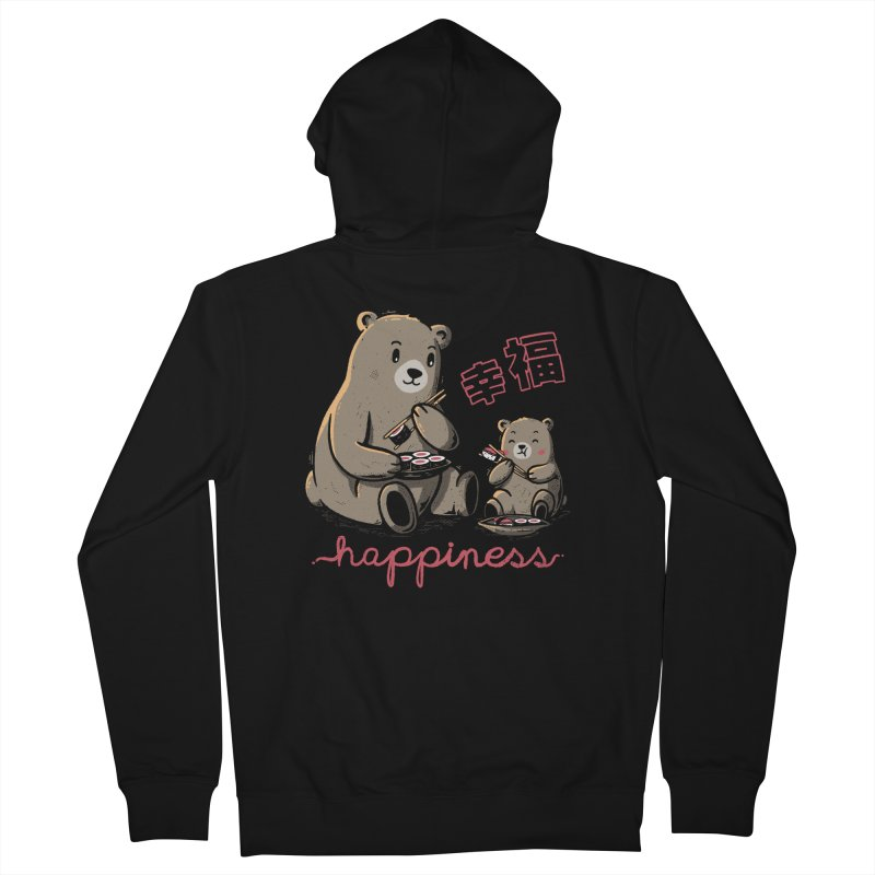 Happiness Sushi Men's Zip-Up Hoody by Tobe Fonseca's Artist Shop