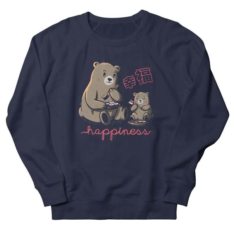 Happiness Sushi Men's Sweatshirt by Tobe Fonseca's Artist Shop