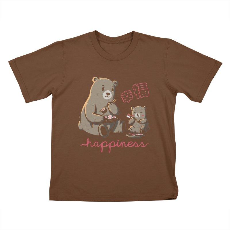 Happiness Sushi Kids T-Shirt by Tobe Fonseca's Artist Shop