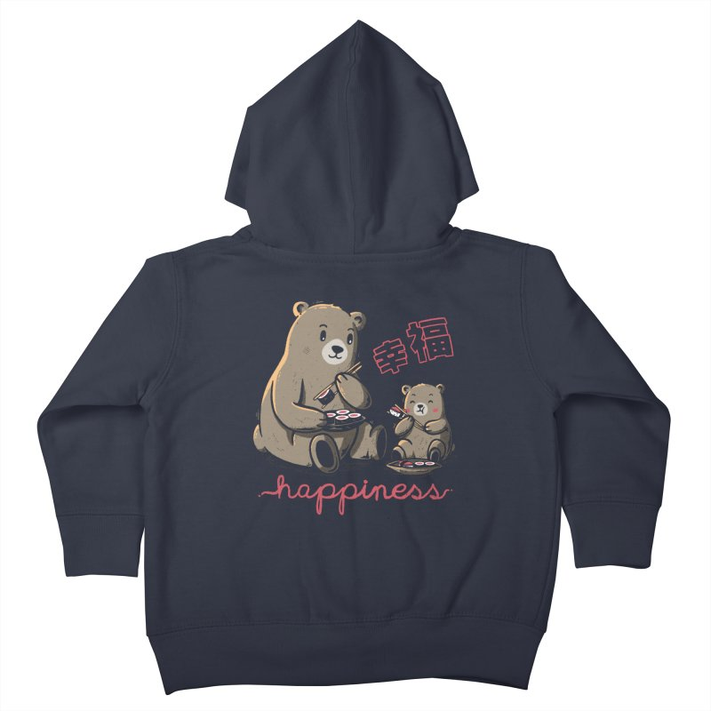 Happiness Sushi Kids Toddler Zip-Up Hoody by Tobe Fonseca's Artist Shop