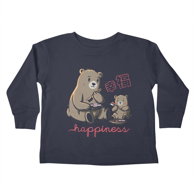 Happiness Sushi Kids Toddler Longsleeve T-Shirt by Tobe Fonseca's Artist Shop