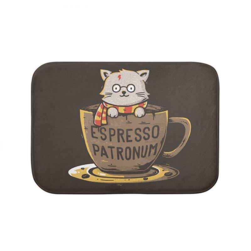Espresso Patronum Home Bath Mat by Tobe Fonseca's Artist Shop