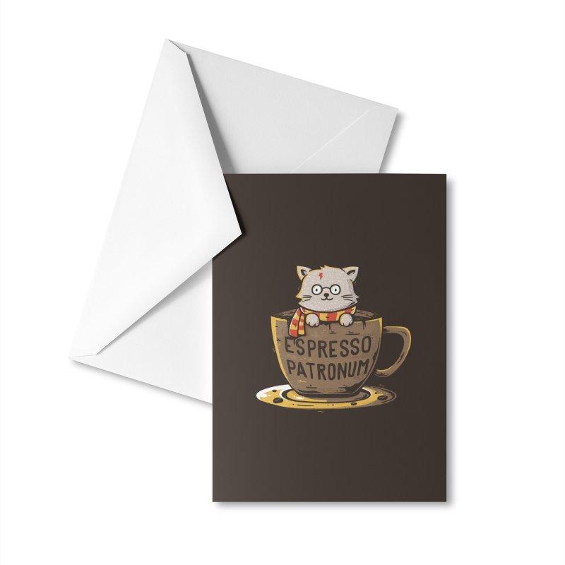 Espresso Patronum Accessories Greeting Card by Tobe Fonseca's Artist Shop
