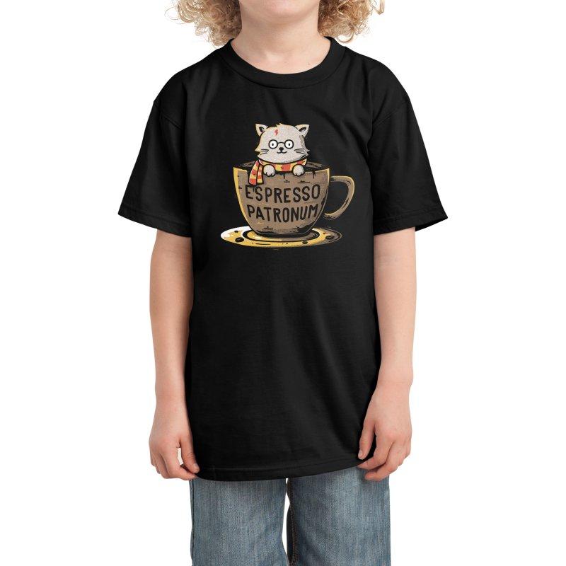 Espresso Patronum Kids T-Shirt by Tobe Fonseca's Artist Shop