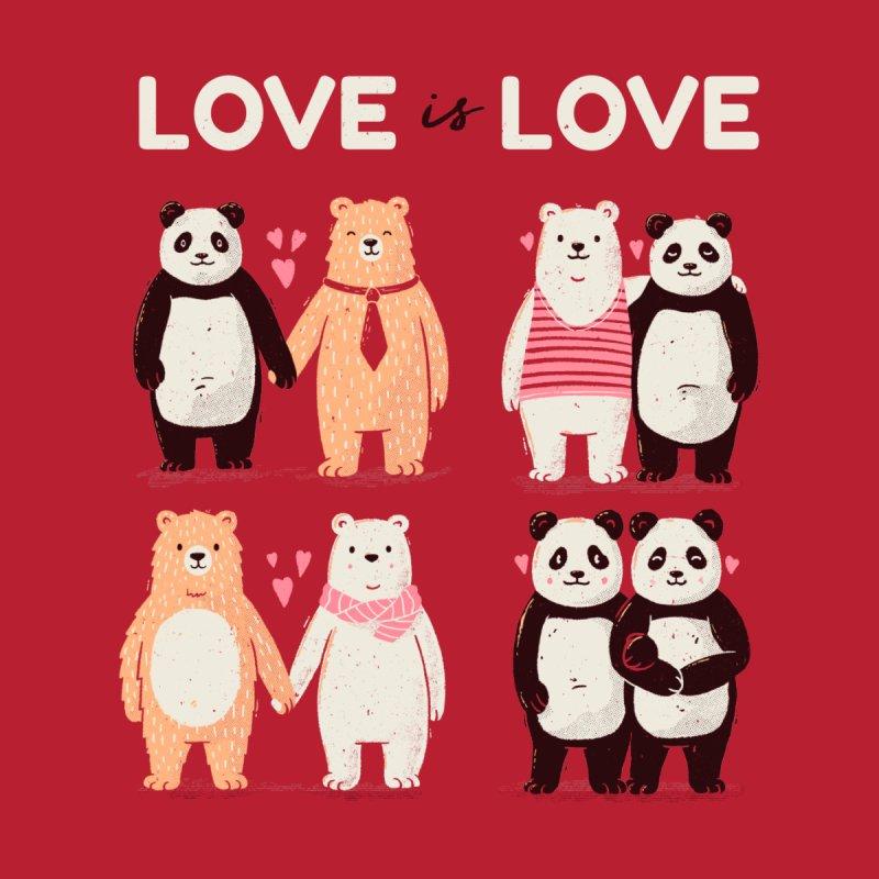 Love is Love Men's T-Shirt by Tobe Fonseca's Artist Shop