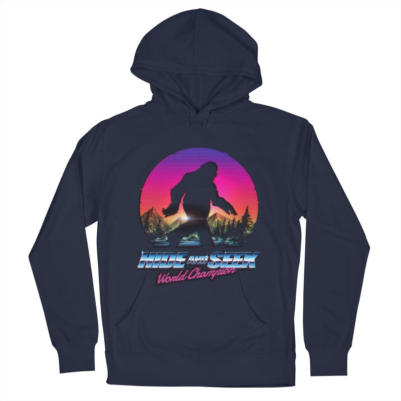 ee5d8313 Hide And Seek World Champion Bigfoot is Real Men's Pullover Hoody by Tobe  Fonseca's Artist Shop
