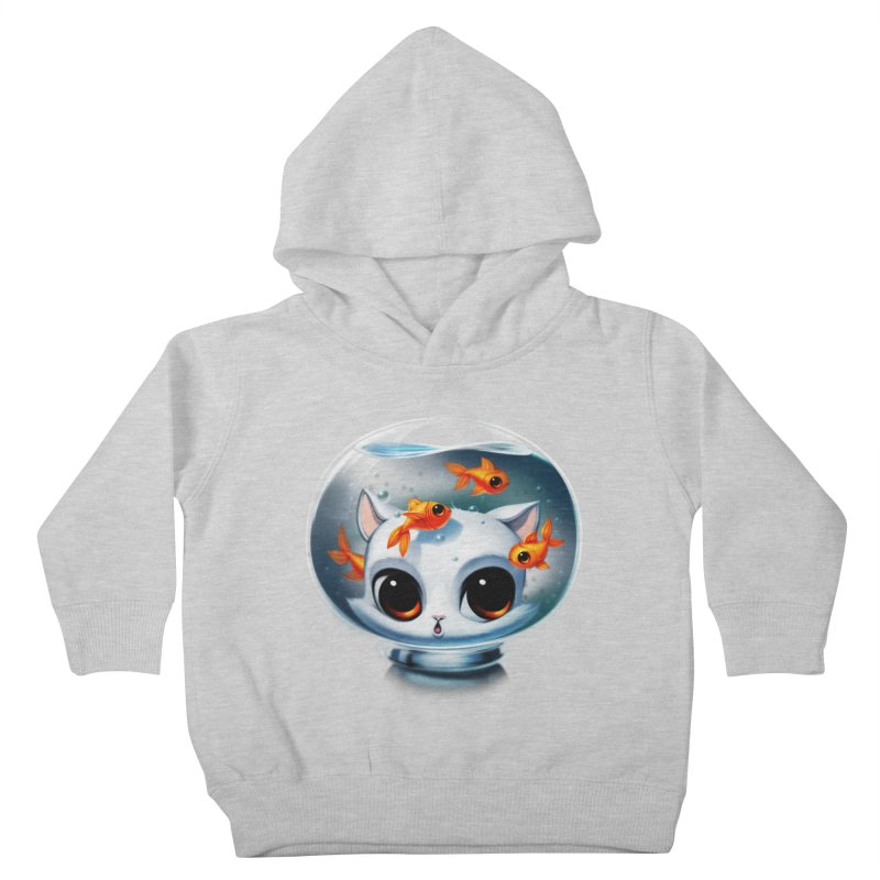 Castronaut Cat Kids Toddler Pullover Hoody by Tobe Fonseca's Artist Shop