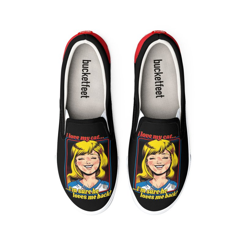 I Love My Cats Men's Shoes by Tobe Fonseca's Artist Shop