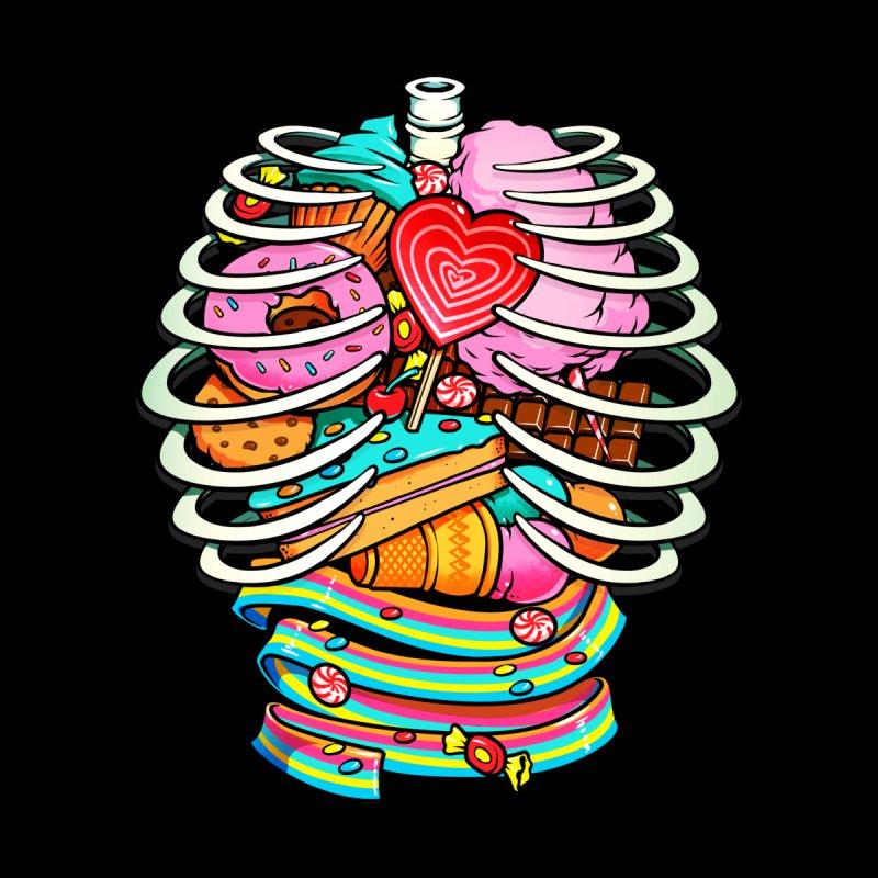 Unicorn Anatomy Sweet Inside Kids Baby T-Shirt by Tobe Fonseca's Artist Shop