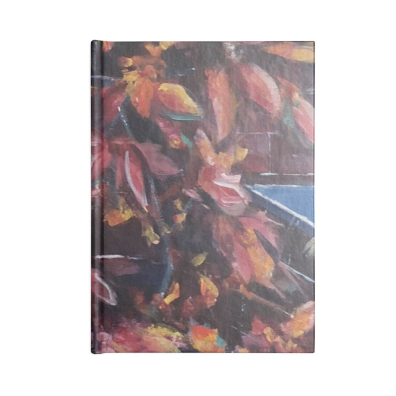 Red Fall Accessories Notebook by Tobey Finkel's Artist Shop