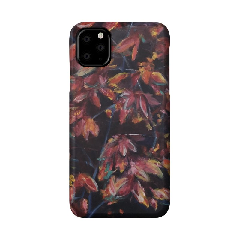 Red Fall Accessories Phone Case by Tobey Finkel's Artist Shop