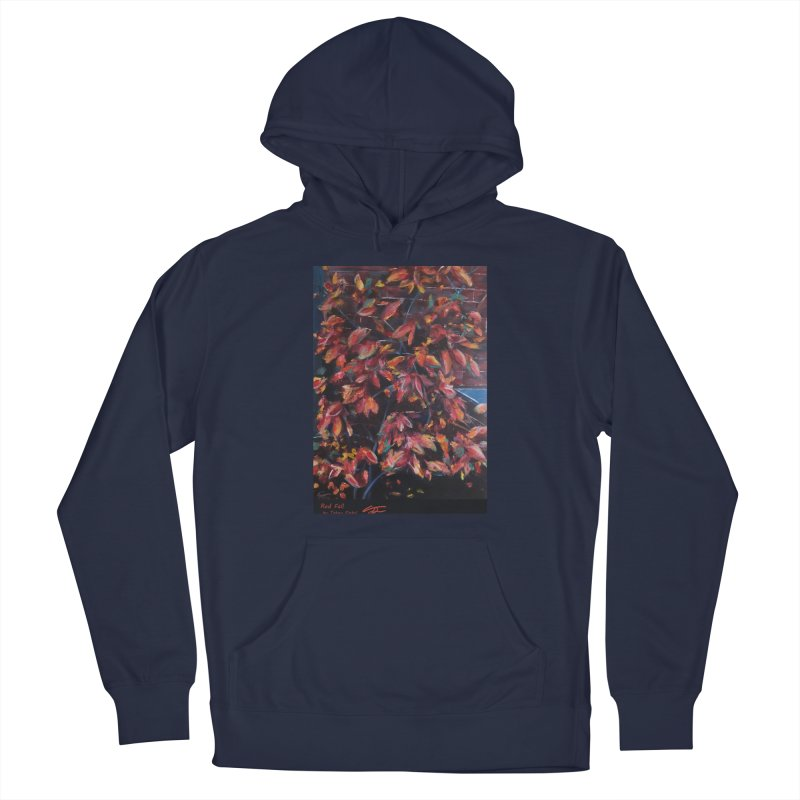 Red Fall Men's Pullover Hoody by Tobey Finkel's Artist Shop