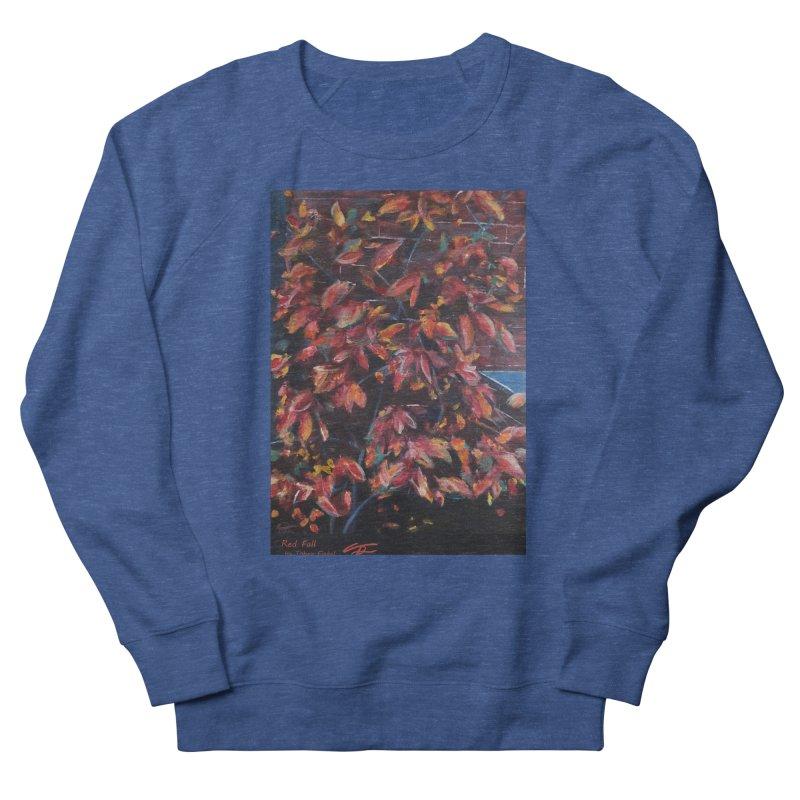 Red Fall Men's Sweatshirt by Tobey Finkel's Artist Shop