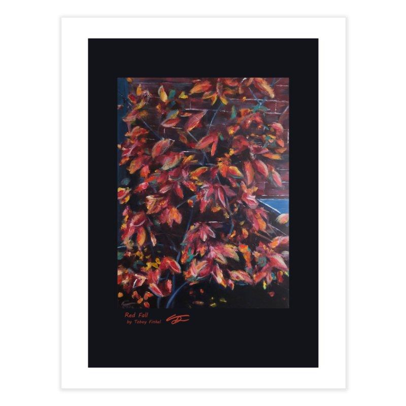 Red Fall Home Fine Art Print by Tobey Finkel's Artist Shop