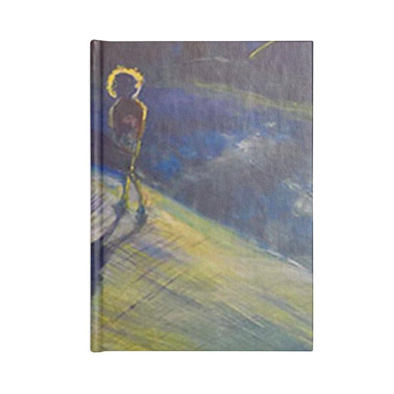 Sunset Walk Accessories Lined Journal Notebook by Tobey Finkel's Artist Shop