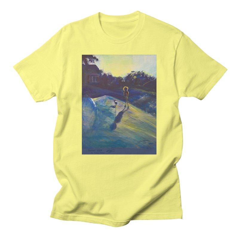 Sunset Walk Men's T-Shirt by Tobey Finkel's Artist Shop