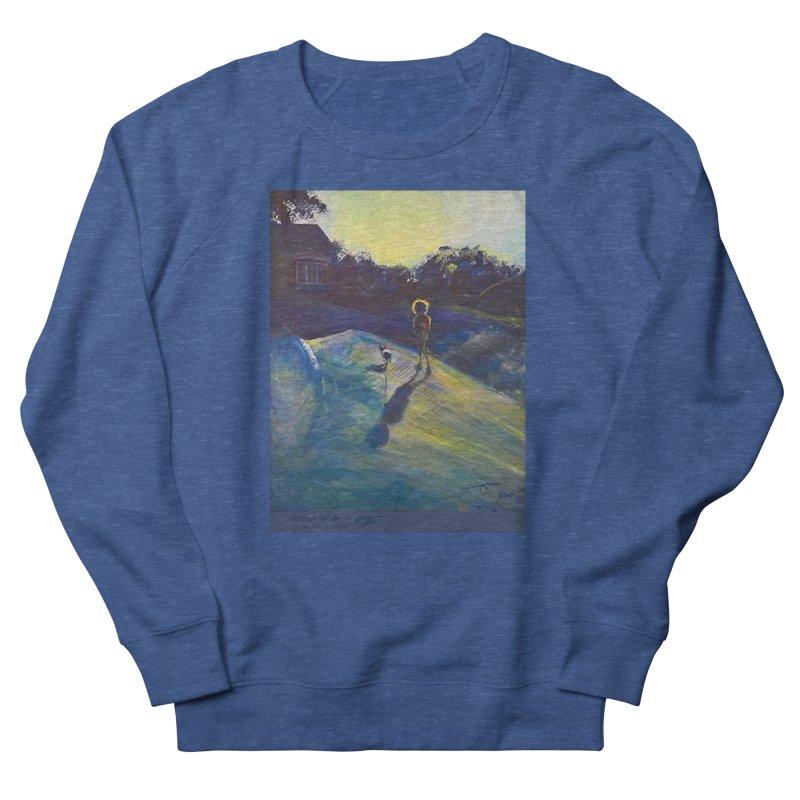 Sunset Walk Women's Sweatshirt by Tobey Finkel's Artist Shop