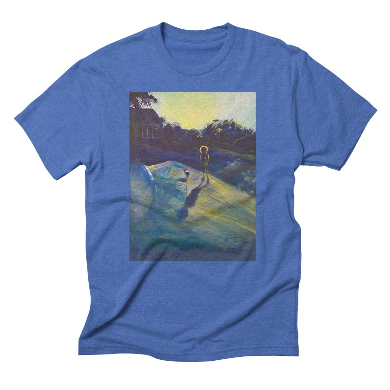 Sunset Walk Men's T-Shirt by Tobey Finkel's Artist Shop