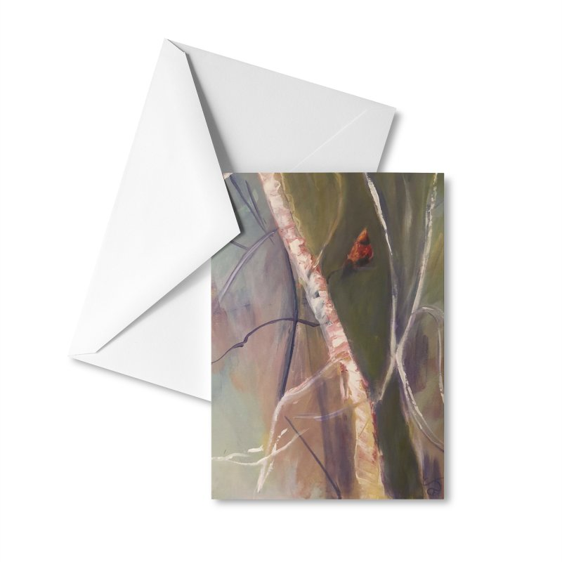 Beauty in Red Accessories Greeting Card by Tobey Finkel's Artist Shop