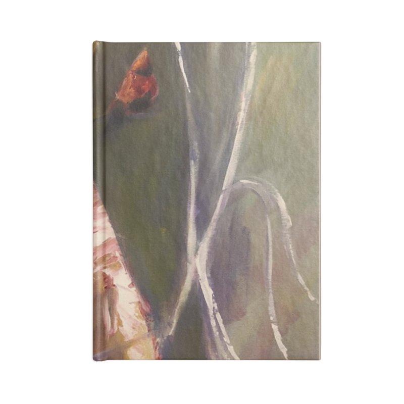 Beauty in Red Accessories Notebook by Tobey Finkel's Artist Shop