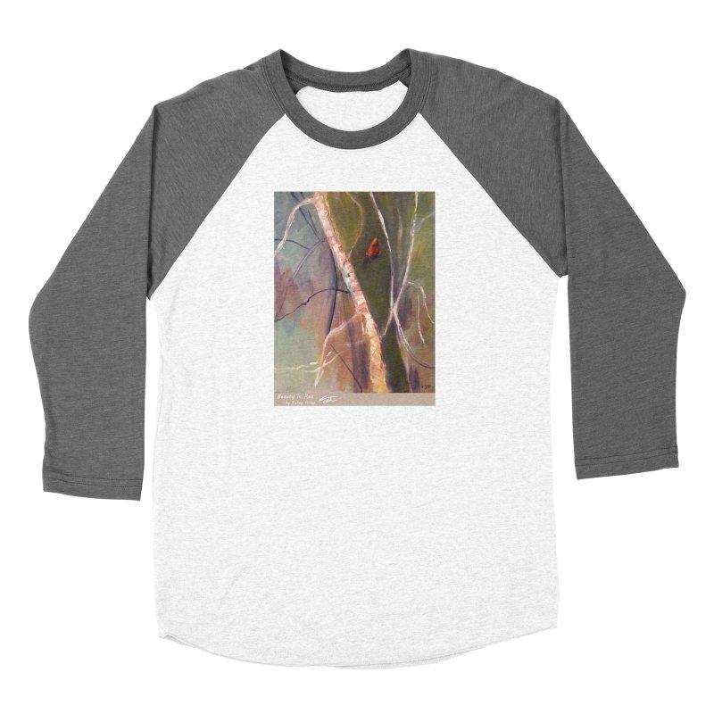 Beauty in Red Women's Longsleeve T-Shirt by Tobey Finkel's Artist Shop