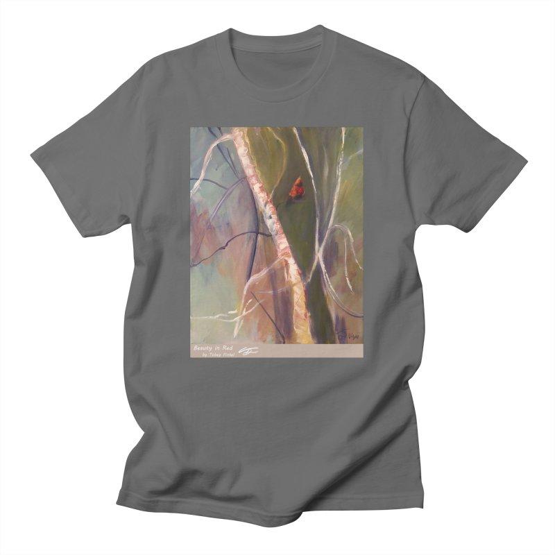 Beauty in Red Men's T-Shirt by Tobey Finkel's Artist Shop