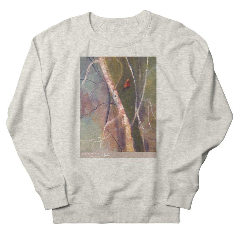 Beauty in Red Men's Sweatshirt by Tobey Finkel's Artist Shop