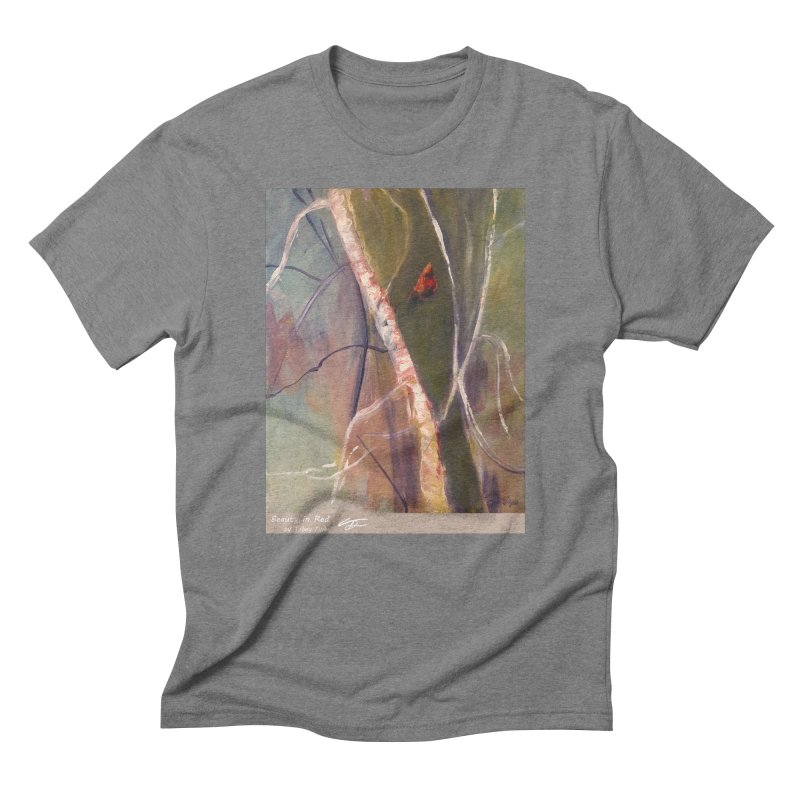 Beauty in Red Men's T-Shirt by Tobey Finkel's Artist Shop