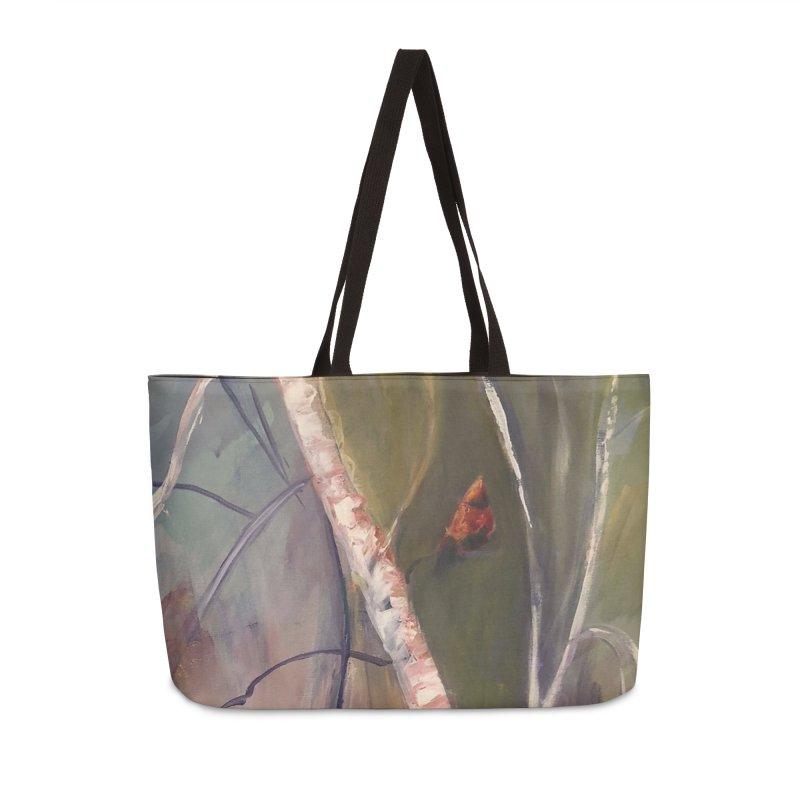 Beauty in Red Accessories Bag by Tobey Finkel's Artist Shop