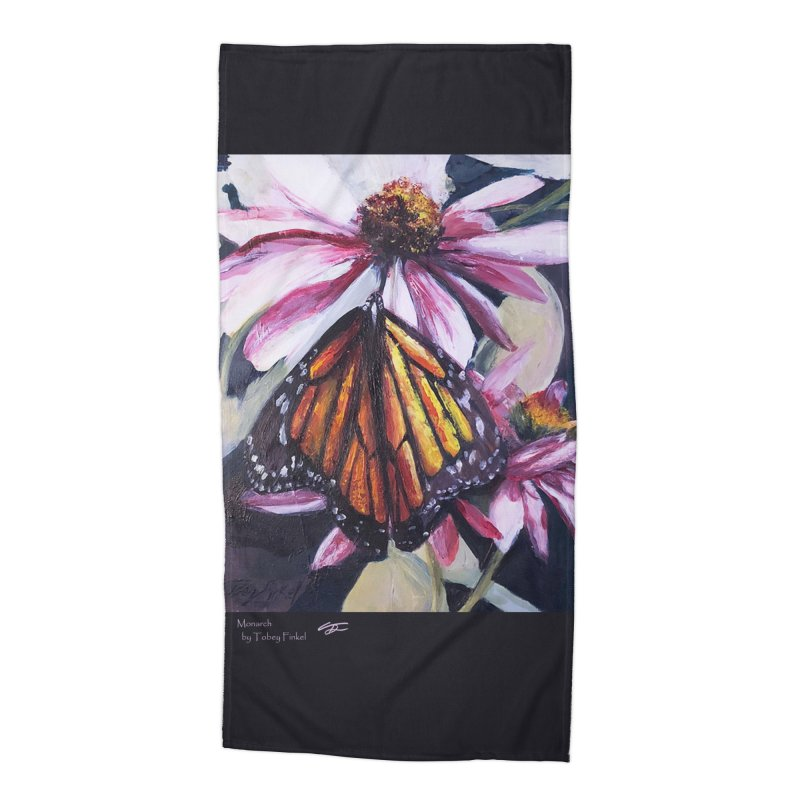 Monarch Accessories Beach Towel by Tobey Finkel's Artist Shop