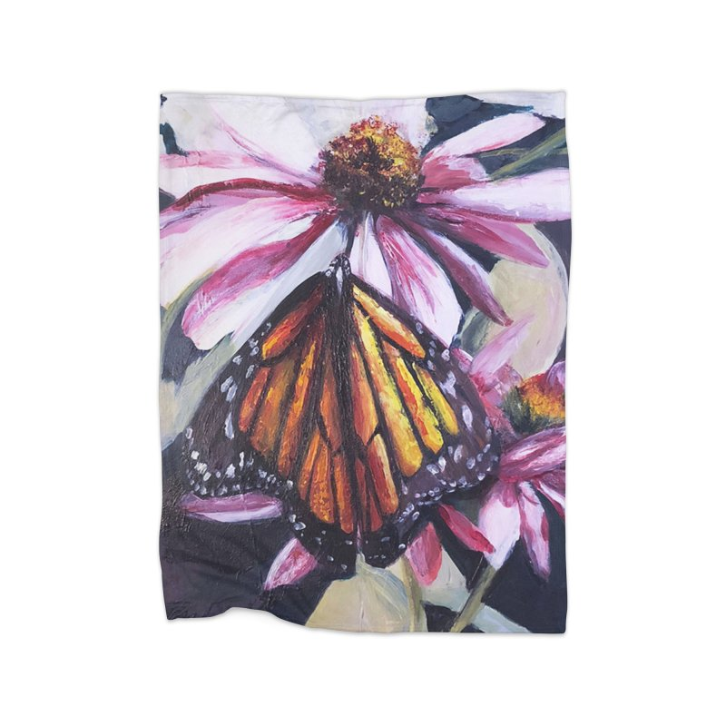 Monarch Home Blanket by Tobey Finkel's Artist Shop