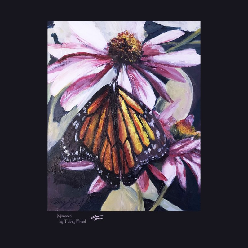 Monarch Home Mounted Aluminum Print by Tobey Finkel's Artist Shop