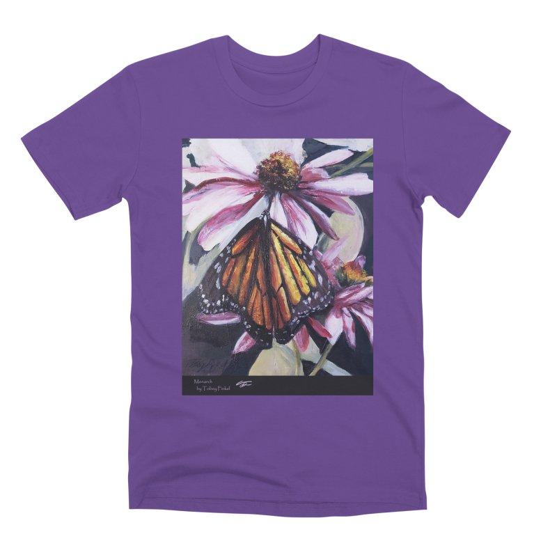 Monarch Men's Premium T-Shirt by Tobey Finkel's Artist Shop
