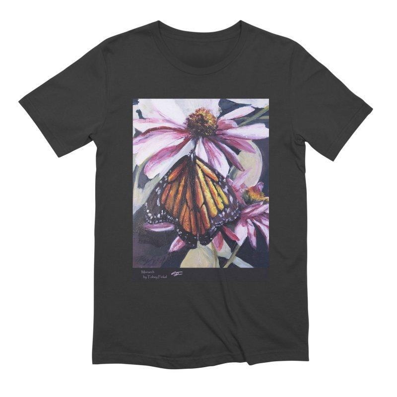 Monarch Men's Extra Soft T-Shirt by Tobey Finkel's Artist Shop
