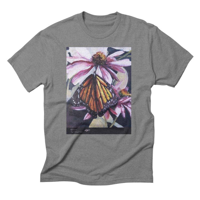 Monarch Men's Triblend T-Shirt by Tobey Finkel's Artist Shop