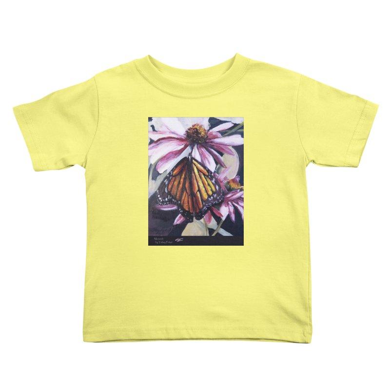Monarch Kids Toddler T-Shirt by Tobey Finkel's Artist Shop