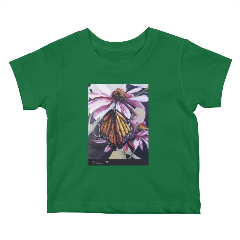 Monarch Kids Baby T-Shirt by Tobey Finkel's Artist Shop
